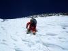 Kilian beim Spuren auf 7600m, 60ig Jahre und kein bisschen leise