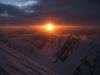 Sonnenuntergang am K2