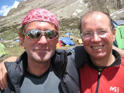Hans Goger und Sepp Bachmair im BC