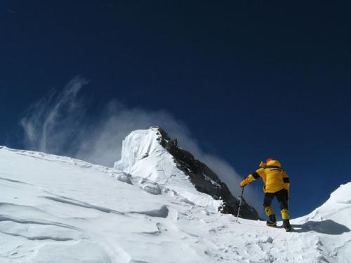 Aufstieg auf Broad Peak
