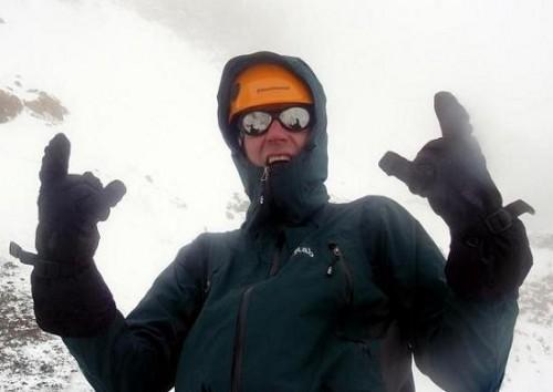 Louis Rosseau - wieder motiviert für einen neuen Versuch am K2.