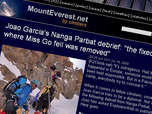 Joao Garcia's Nanga Parbat debrief