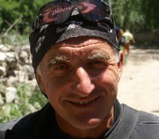 Wolfgang vor zwei Jahren auf dem Weg zum Broad Peak